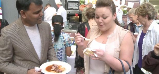 Raval Delights Curry Lovers at Eldon Square's Great Taste Weekend