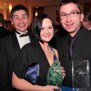 Andrew Carter, Adelle Hooper & Chris Luke (ITV Signpost)