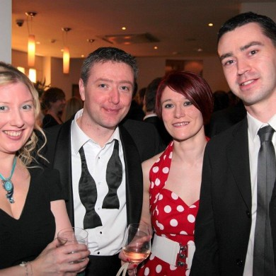 ITV's Kerry Plummer, Adrian Giles, Charlotte Tilly and Lee Tomlinson