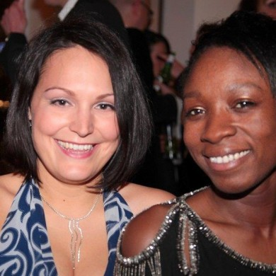 Kate Fisher (ITV) and Latanya Shannon (BBC)
