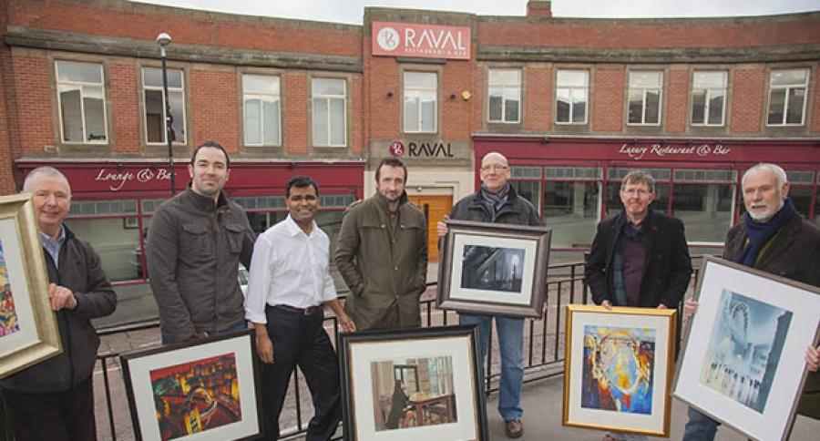 Raval Backs North's Top Artists