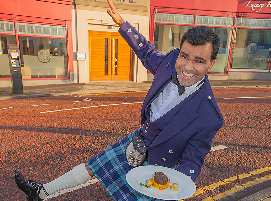Raval indian Haggis Curry For Burns Night  Newcastle Gateshead