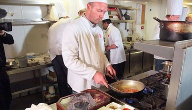 Alan Shearer Cooking Raval
