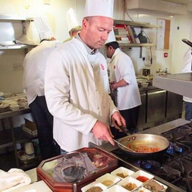 Alan Shearer Cooking Raval