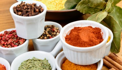 Healthy eating Indian spices
