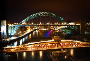 Newcastle Tyne Bridge- Raval indian Restaurant
